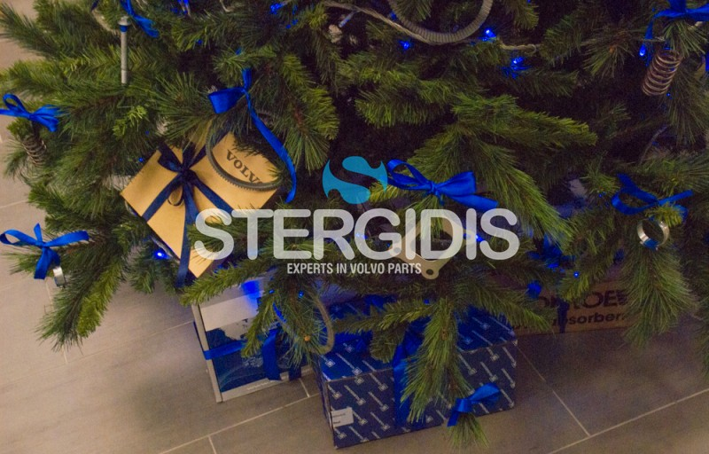 Stergidis-Volvo Christmas tree