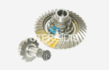 EURORICAMBI CROWN WHEEL PINION KIT WITH GEAR KIT-BOLTS-CASES RSS1344C RATIO: 2,85 - 13/37 -